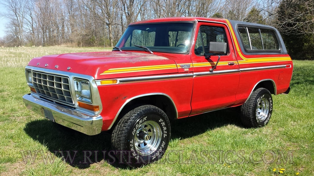 1979 bronco ranger xlt 4x4 free wheelin package 400